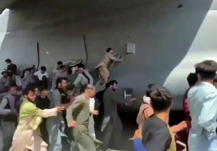 afghan refugees airport