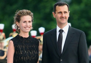 assad and wife