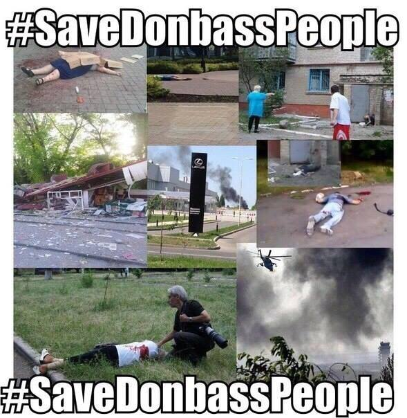Save Donbas people