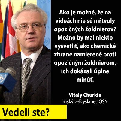 Sýrie  a Churkin